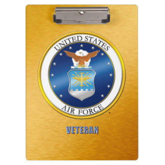 U.S. Air Force Veteran Clipboard