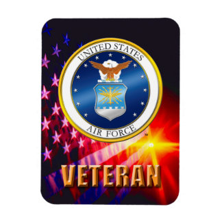 U.S. Air Force Veteran Flexible Photo Magnet
