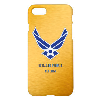 U.S. Air Force Veteran iPhone 7 Phone Cases