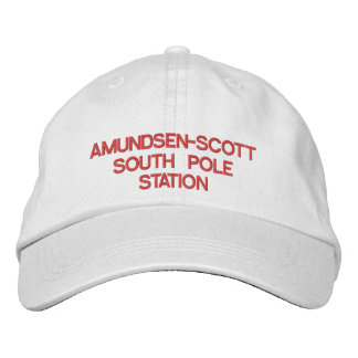 U.S. Amundsen-Scott South Pole Station Hat Embroidered Hat