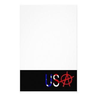 U S Anarchy Stationery