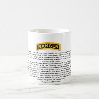 U.S. Army Ranger Creed Coffee Mug