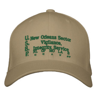 U.S.B.P., Vigilance, Integrity, Service, NLS, B... Baseball Cap