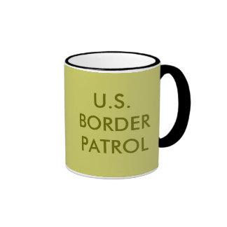 U.S.BORDER PATROL RINGER MUG