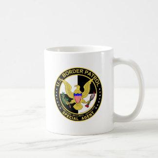 U.S. Border Patrol Special Agent (v100-6) Basic White Mug