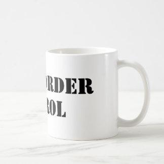 U.S. Border Patrol (text) Basic White Mug