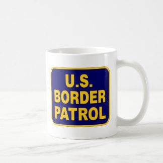 U.S. BORDER PATROL (v189) Basic White Mug