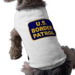 U.S. BORDER PATROL (v189) Doggie Tshirt