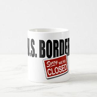 U.S. Border - Sorry We're Closed Morphing Mug