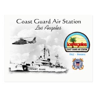 U.S.C.G. Air Los Angeles, California Postcard