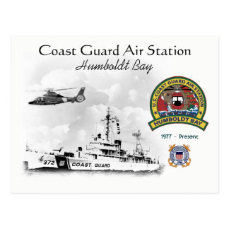 U.S.C.G. Air Station Humboldt Bay California Postcard