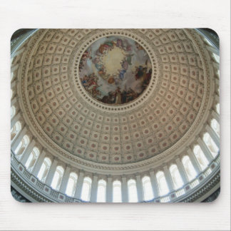 U S Capitol dome Mousepads