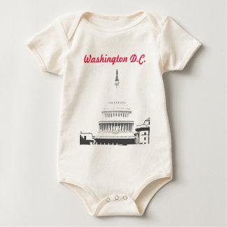 U.S. Capitol Dome, Washington D.C. Baby Bodysuit