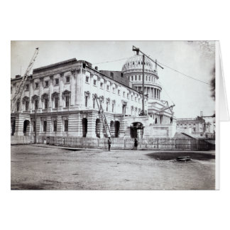 U.S. Capitol, July 1863 Greeting Card