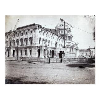 U.S. Capitol, July 1863 Postcard