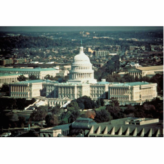 U.S. Capitol Standing Photo Sculpture