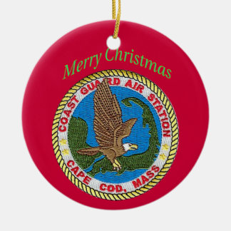 U.S. Coast Air Station Cape Cod Christmas Ornament