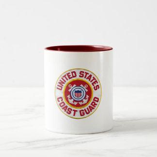 U.S.Coast Guard Academy Two-Tone Coffee Mug