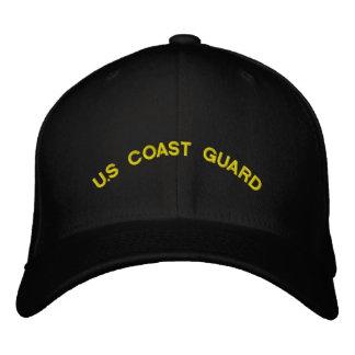 U S Coast Guard Embroidered Baseball Caps