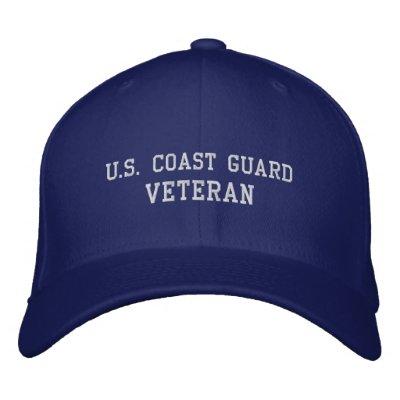 U.S.Coast Guard Embroidered Hats