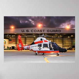 U.S. Coast guard Helicopter Print