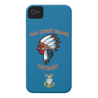 U.S. Coast Guard MCPO Retired iPhone 4 Case