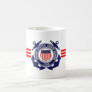 U.S. Coast Guard Basic White Mug