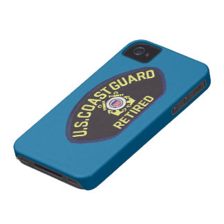U.S. Coast Guard Retired iPhone 4 Case-Mate Case