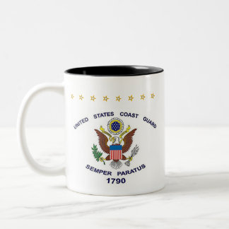 U.S. Coast Guard - retired Two-Tone Coffee Mug