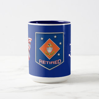 U.S. Coast Guard Senior Chief Retired Mug