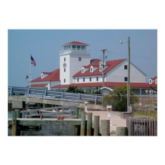 U.S. Coast Guard Station Ocracoke Island NC OBX Print