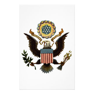 U S COAT OF ARMS STATIONERY PAPER