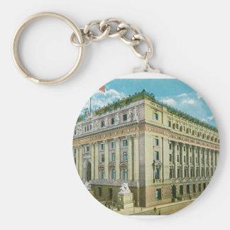 U.S. Custom House, New York City Key Ring