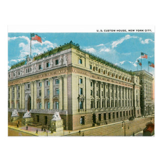 U.S. Custom House Postcard