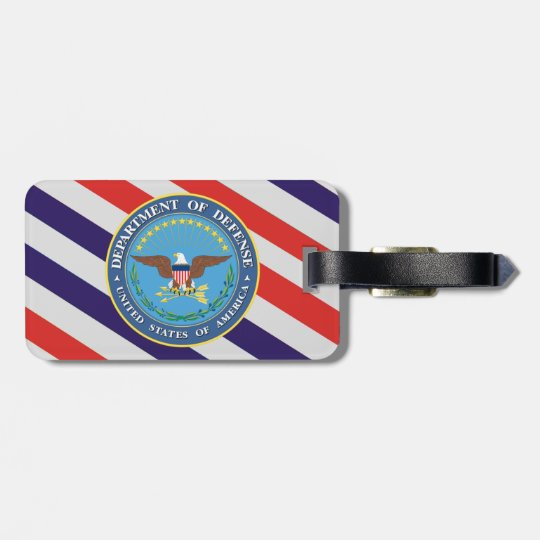U.S. Department of Defence Luggage Tag