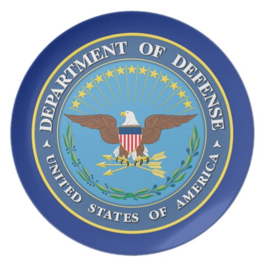 U.S. Department of Defence Plate