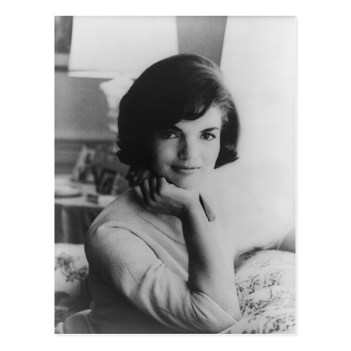 U.S. First Lady Jacqueline Kennedy Portrait Post Cards