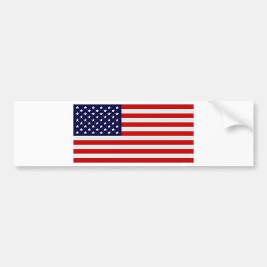 U.S. Flag Bumper Stickers