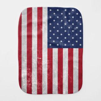U.S. Flag Burp Cloth