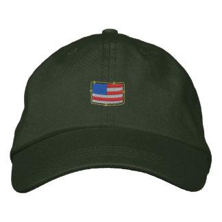 U S Flag Embroidered Hat
