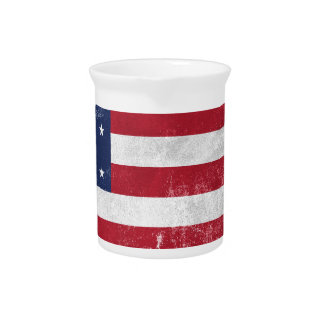 U.S. Flag Pitcher