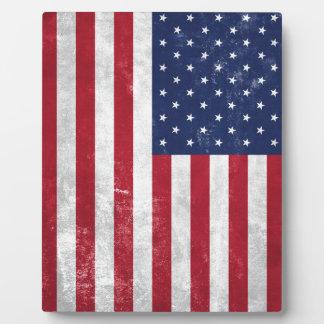U.S. Flag Plaque