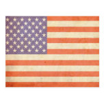 U.S. Flag Postcard