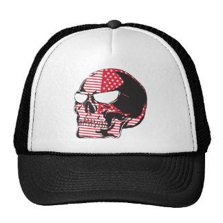 U.S. Flag Skull Cap