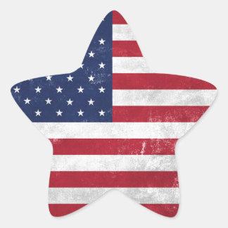 U.S. Flag Star Sticker