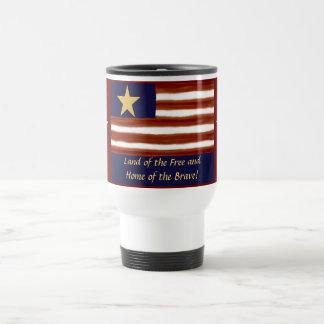 U.S Flag Travel Mug