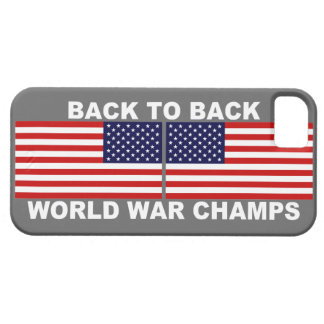 U.S. Flags World War Champs iPhone 5 Case