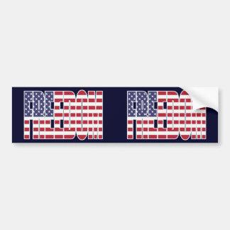 U.S. Freedom Flag 2-in-1 Bumper Sticker