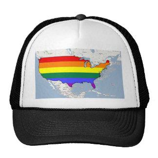 U S GLBT Pride Hat