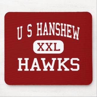 U S Hanshew - Hawks - Middle - Anchorage Alaska Mouse Pads
